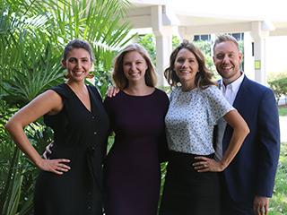 Amanda Sharp, Enya Vroom, Bonnie Wilson-Brown and Joshua Barnett